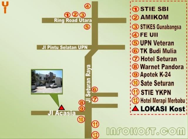 Info Kost Exclusive Yogyakarta