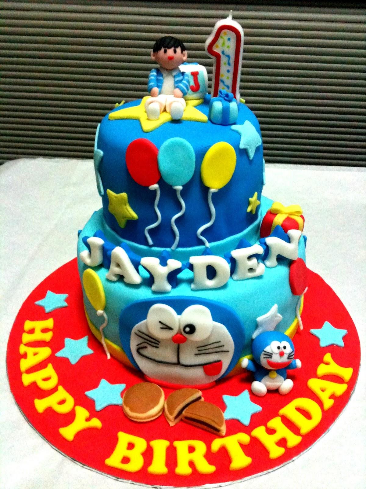 Birthday Cake Images Of Doraemon ~ Oven creations happy st birthday jayden