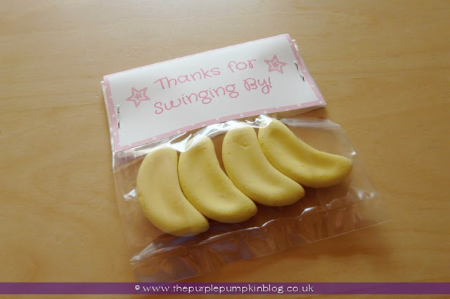 Party Favors for a Baby Shower at The Purple Pumpkin Blog