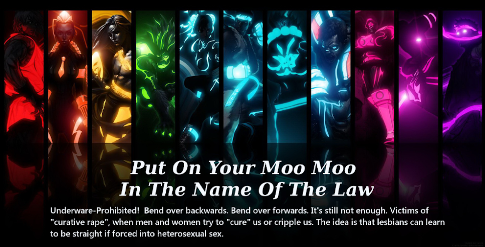 Put On Your Moo Moo In The Name Of The Law