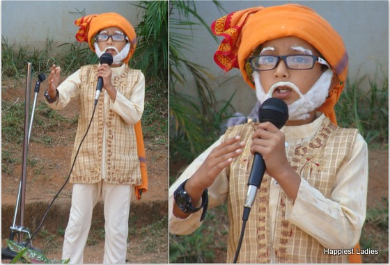 narendra modi fancy dress idea