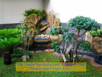Tukang Taman Surabaya Relief 3D simpel