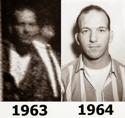 Altgens photo compared to 1964 FBI image of Billy Lovelady