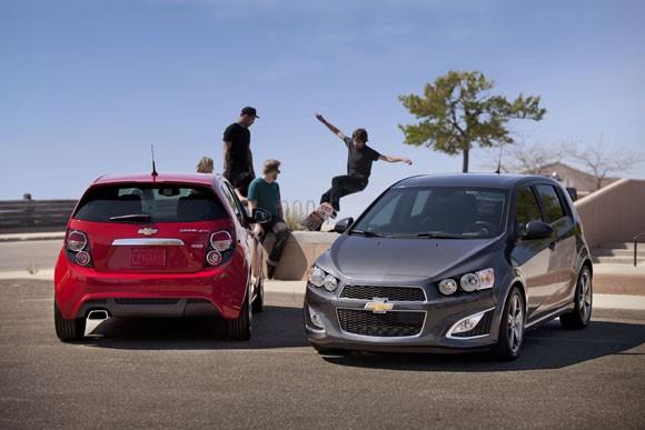 Nuevo Chevrolet Sonic RS para Estados Unidos