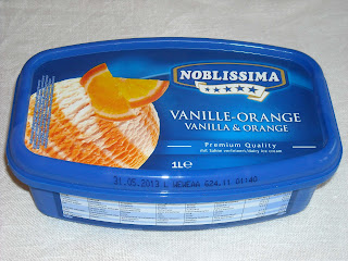 Lidl: Noblissima: Vanille-Orange jäätelö
