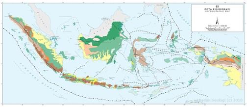 Bentuk Muka Bumi Indonesia