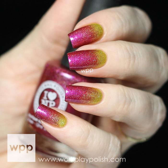 ILNP Funshine Smooth and Bikini Bottoms Gradient Nail Art