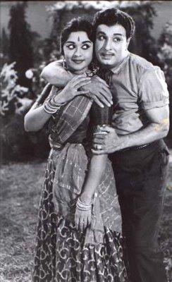 MGR & Saroja Devi