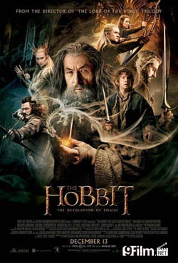 The Hobbit: The Desolation Of Smaug 2013 poster