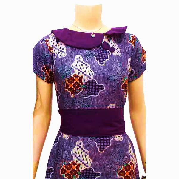 Sarimbit Dress Batik Solo KODE SD 3068