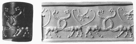 Segel Silinder Mesopotamia