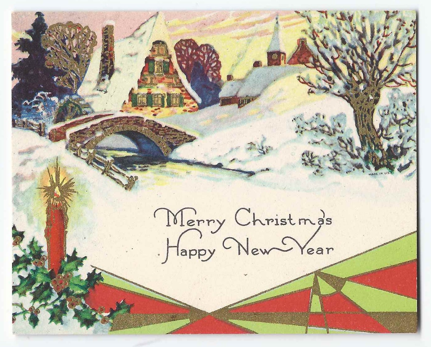 Heirlooms reunited two greeting cards sent to lawrence w strout at the card was sent to lawrence by beatrice m4hsunfo