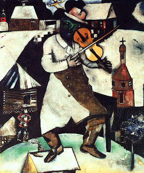 Chagall &#39;The Fiddler&#39; (1912)