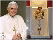 A primeras horas de la mañana Su Santidad el Papa Benedicto XVI anunciaba su . papa rosa de oro