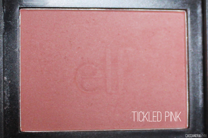 E.L.F. STUDIO // Blush Collection + Swatches - Tickled Pink - cassandramyee