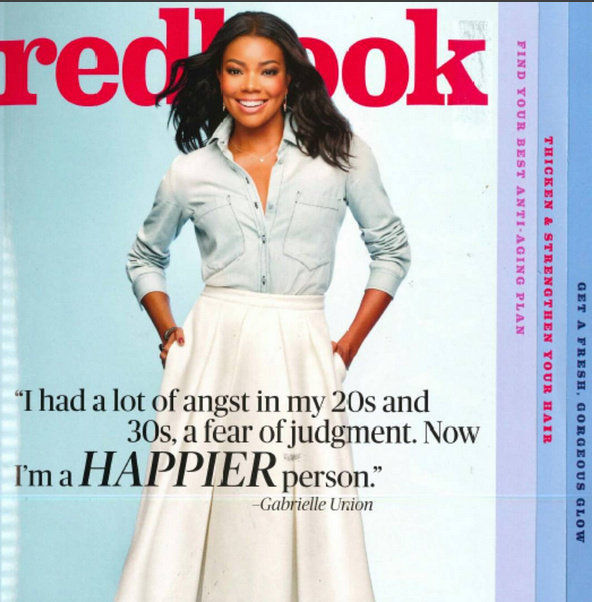 Gabrielle Union Redbook