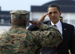 obama salute