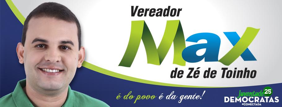 Blog do Vereador MAX DE ZÉ DE TOINHO