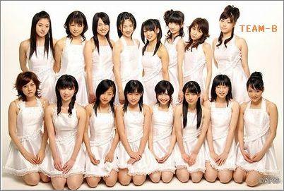 Foto Personil Dan Biodata AKB48 Tim B - JKT48 and 48 Family