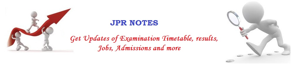 JPR Notes - Anna University News | Nov/Dec 2013 Timetable | Study Material