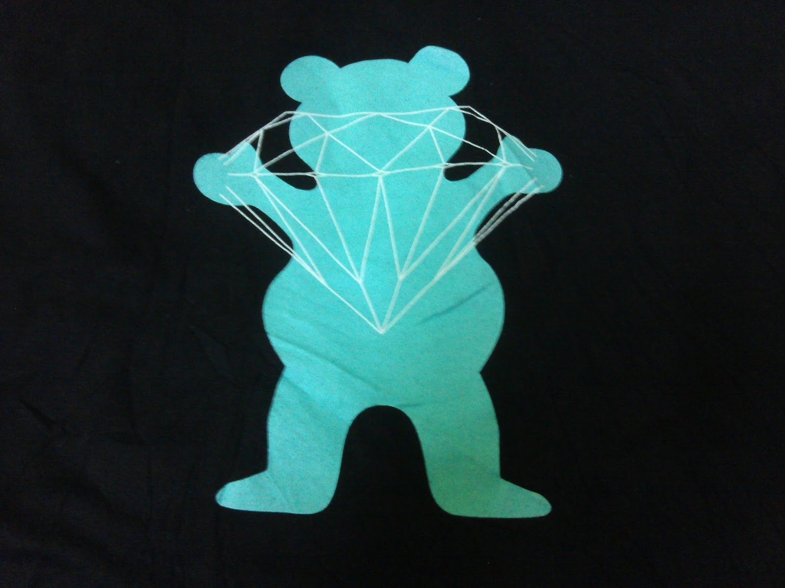 PROVOX Diamond Supply x Grizzly Grip Tape Brilliant Bear T Shirt