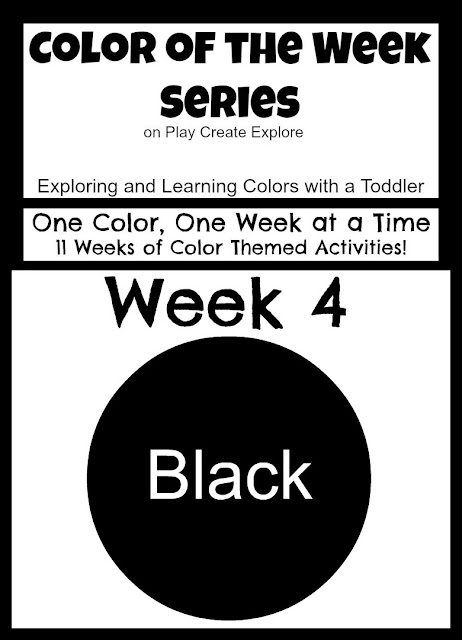 Color themed activities and sensory bins