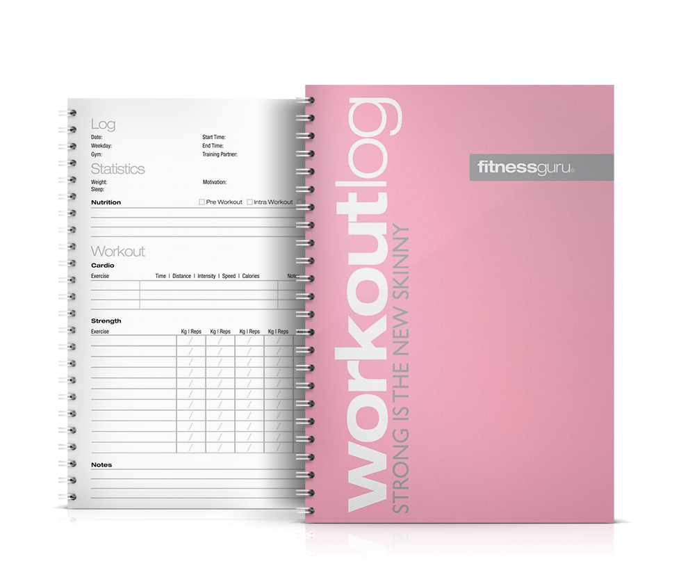 gym log book template