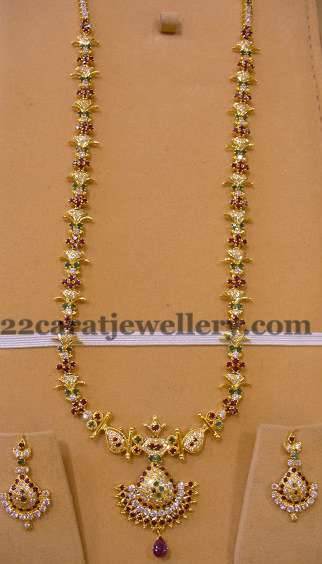 Light Weight Magnificent Long Chain Jewellery Designs
