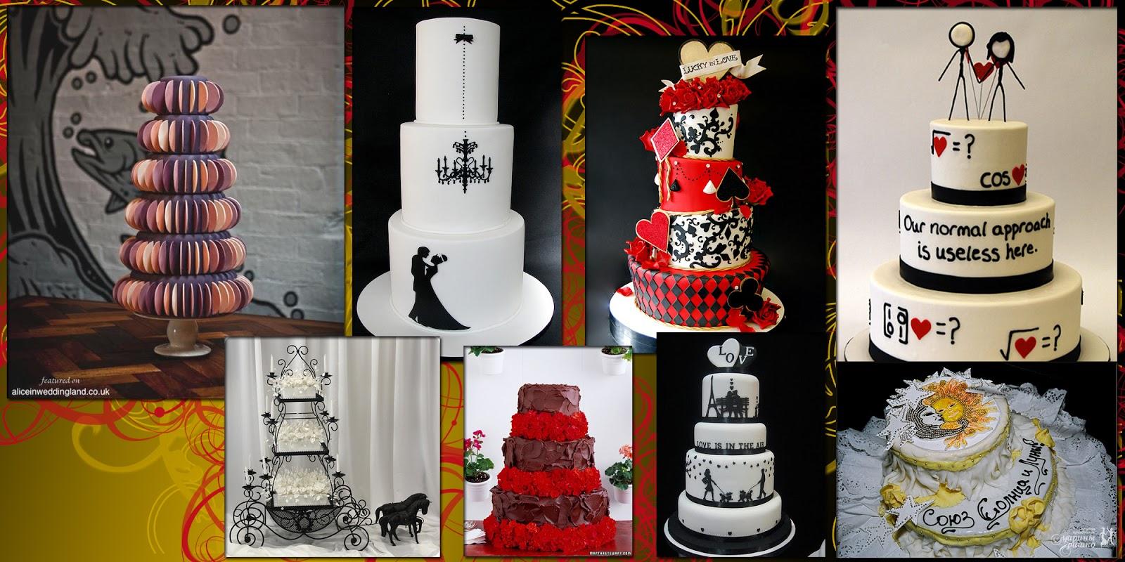 Торты необычные свадебные торты