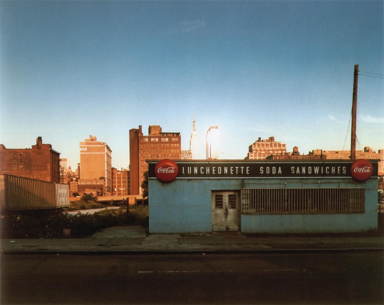 12ª avenida entre las calles 34 y 35. Joel Meyerowitz (1978)