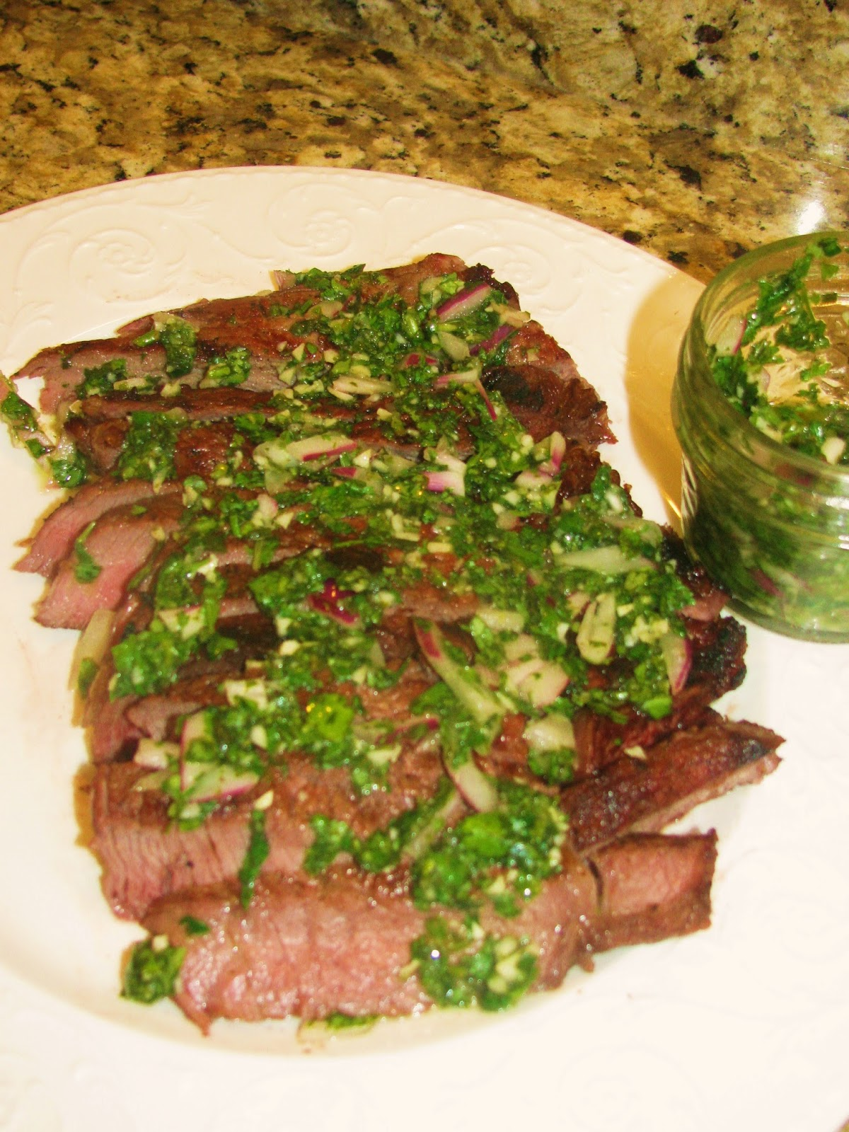 Valerie's Attempt at Pondering: Grilled Skirt Steak with ...