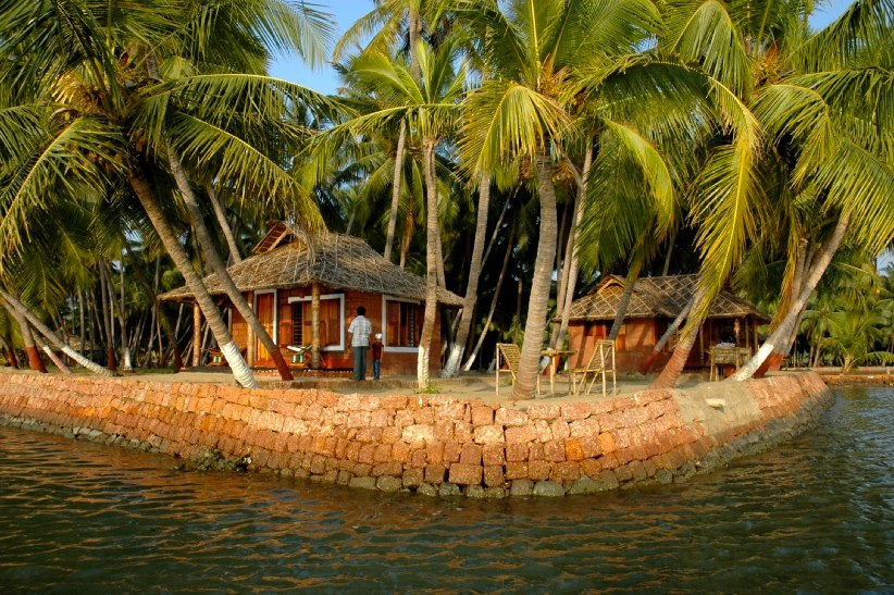Private Island by the backwaters of North Kerala; Kasaragod