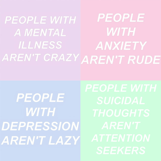 October 10 Today Is World Mental Health Day To Bring Awareness Of And That Illnesses Are Real I Found Some Important Quotes On