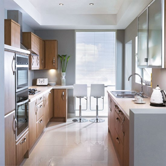 Cozinha pequena 16 truques de decora o cores da casa - Cocina office pequena ...