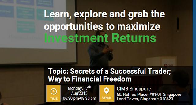 trading/investment seminar singapore