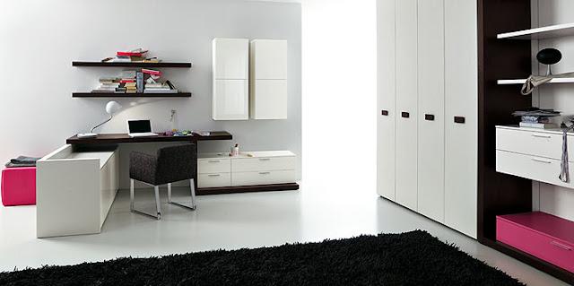chambre de luxe moderne ado fille chambre noir et blanc ado fille id es d - Deco Noir Et Blanc Chambre Ado