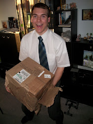 Chris gets his box in six weeks!