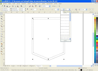 Corel Draw - Tutorial de Bolso Simples