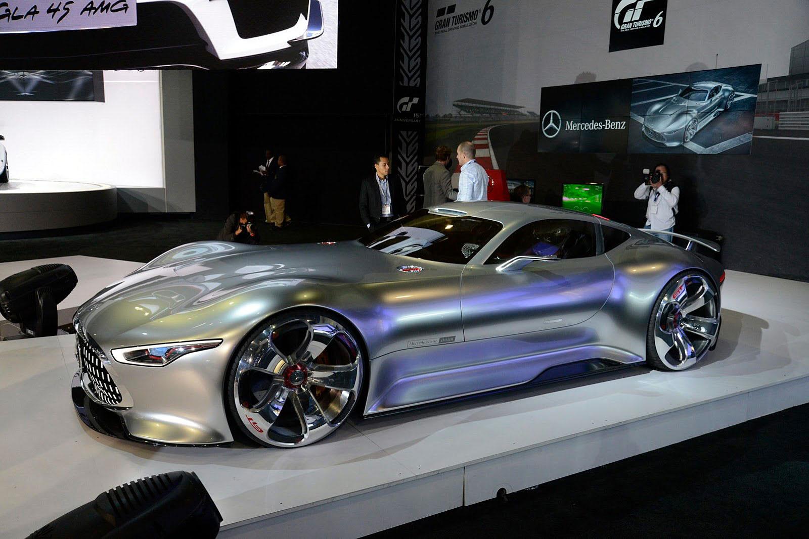Jake 39 s car world mercedes benz amg vision concept - Mercedes car show ...
