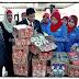 Misi Sayang Wanita UMNO, Serah Makanan Kepada Pasukan Keselamatan Di Lahad Datu...