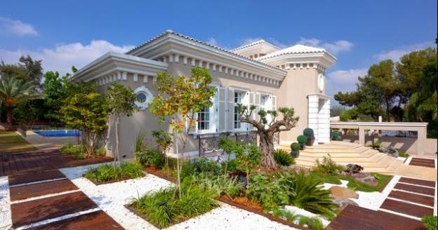 Fotos de jardin jardin casa de madera - Fotos de jardines de casas ...