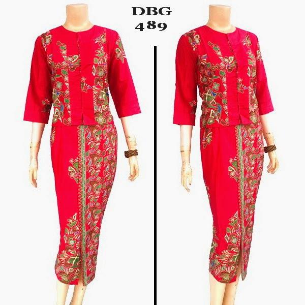 Baju Batik Muslim DBG 489