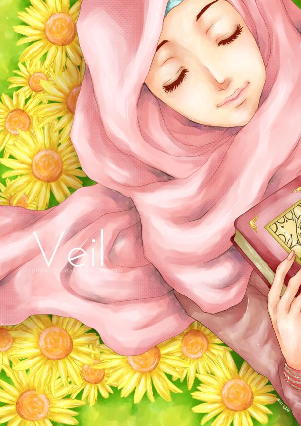 Muslim Girl Love Wallpaper : Ika Asma : Anime Muslimah
