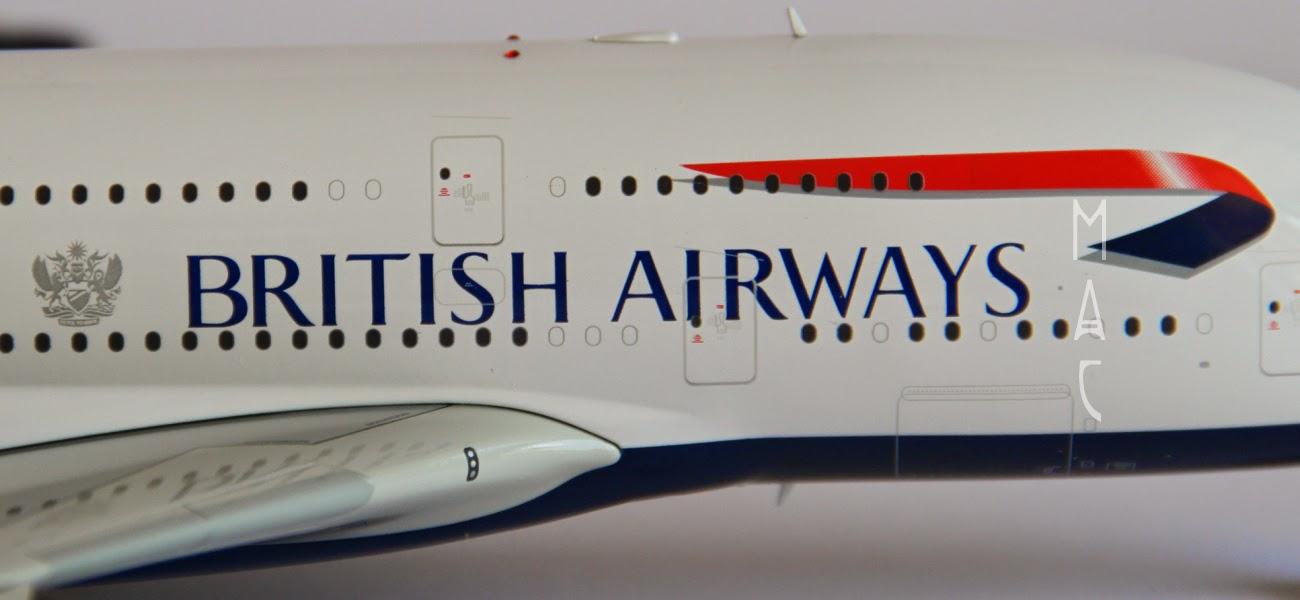 mac maquetas de aviones comerciales british airways