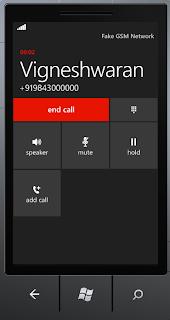 making call in windows phone
