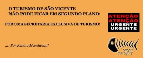 ..:: Por Uma Secretaria Exclusiva de Turismo ::..