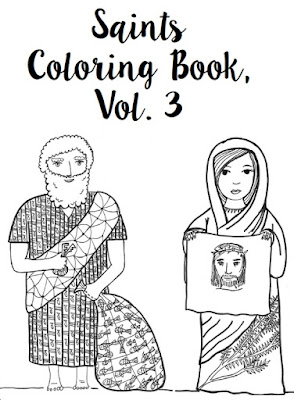 Paper Dali: New Catholic Saints Coloring Book Featuring Saints Peter ...
