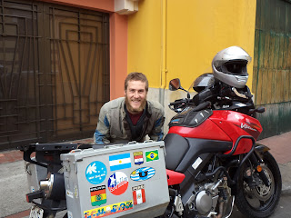 The final photo of the bikeWe rode into Bogota with the knowledge we may not ride out again. This was where we were to, fingers crossed, sell the bike or ship it back to New Zealand. It didn't take long while held-up in a bedraggled hostel to acknowled...