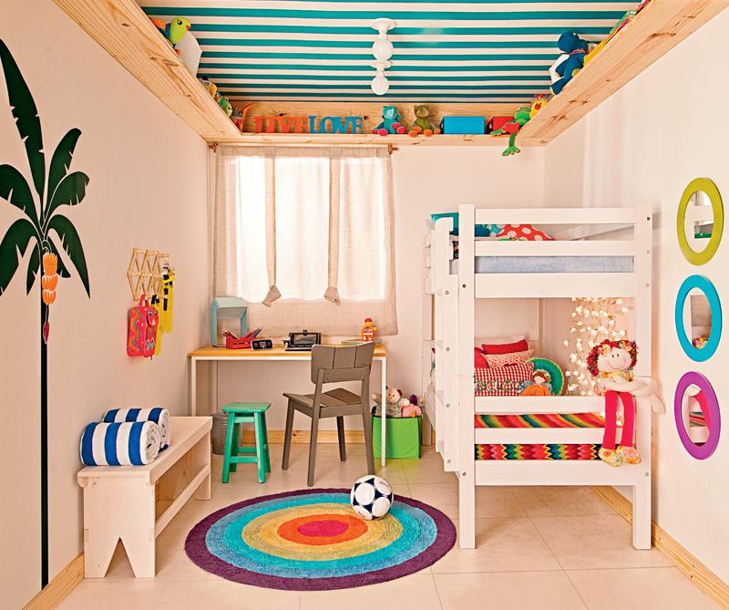 Decora o quarto para dois irm os mariana ara jo - Organizar habitacion ninos ...