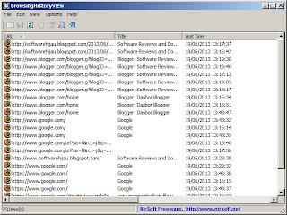 Cara Menyimpan Riwayat Web Browser Firefox, Chrome, Internet Explorer, Dan Safari Dengan BrowsingHistoryView-4